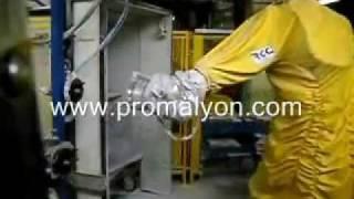 Robot d'émaillage