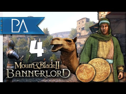 ESTABLISHING OUR CLAN! - Aserai Campaign - Mount and Blade 2: Bannerlord - EP.4