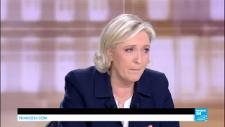 """Video Marine Le Pen: """"France will be led by a woman, either me or Angela Merkel!"""" MP3, 3GP, MP4, WEBM, AVI, FLV Mei 2017"""