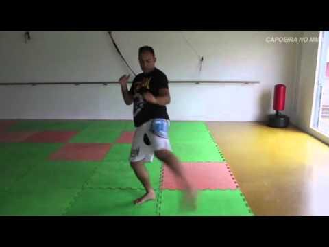 Chicote Negro - Capoeira no MMA (видео)