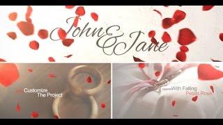 template 7 : vidéo introduction de mariage pour discours