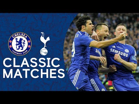 Chelsea 2-0 Tottenham | John Terry Strike Secures Victory 🏆 | League Cup Final Classic Highlights