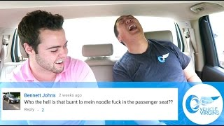 Reading Mean Youtube Comments! by Vehicle Virgins