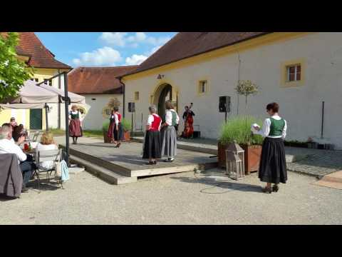Haßberge-Tracht Modenschau 10. Juni 2016