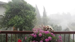 Montespertoli Italy  city pictures gallery : Summer storm in Italy, Montespertoli June 24 2013