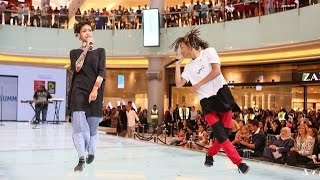 "Jaden Smith  Performs ""'Fire''  (Concert in Dubai)"