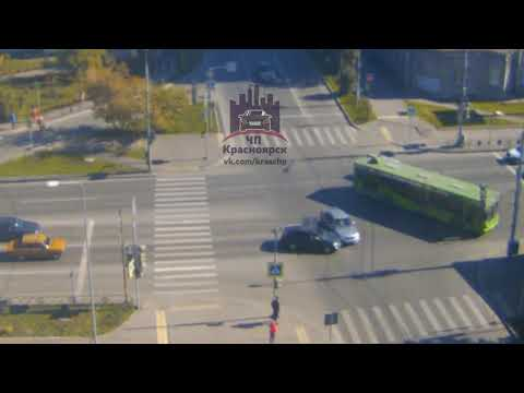 Марковского - Вейнбаума 21.09.2018 ЧП Красноярск - DomaVideo.Ru