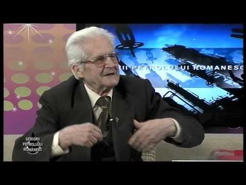 Emisiunea Seniorii Petrolului Românesc – Stelian Dumitrescu – 4 aprilie 2015