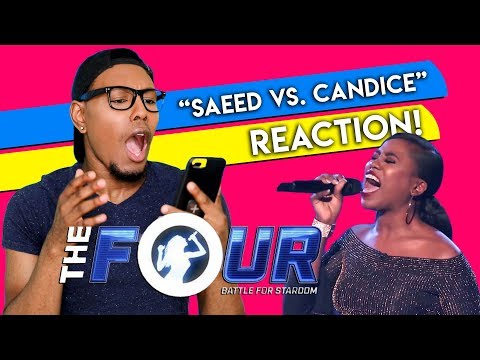 "Saeed vs Candice: A GREAT Battle For A Second Chance! | S1E5 | The Four + ""I Have Nothing"""
