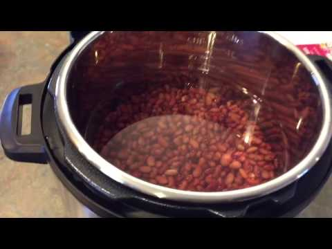 How To Cook Dried Beans | I Got An Instant Pot For Christmas!