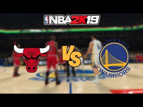 NBA 2K19 - '97-'98 Chicago Bulls vs. Golden State Warriors - Full Gameplay