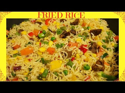 How To Make Fried Rice | Nigerian Fried Rice