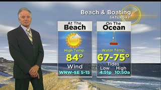 Barry Burbank has your latest weather forecast.