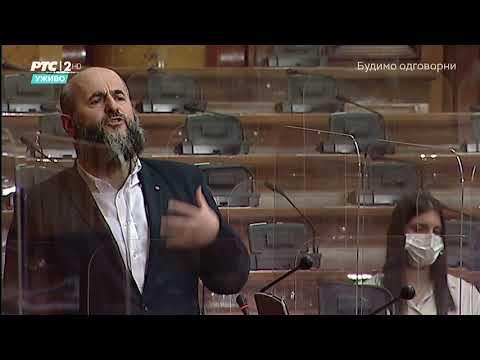 Obraćanje u Skupštini 28. 04. 2021. g. – Akademik Muamer Zukorlić