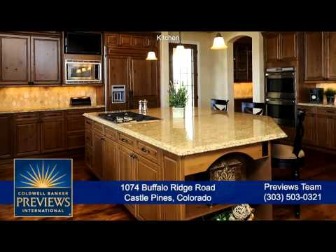 1074 Buffalo Ridge Road, Castle Pines, Colorado, Luxury Home for Sale