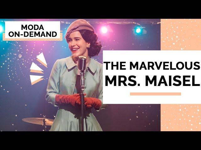 ANALISANDO FIGURINO - THE MARVELOUS MRS. MAISEL - Closet da Mari