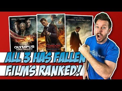 All Three Olympus Has Fallen Movies Ranked!