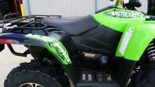 5. $11,499 2013 Arctic Cat MudPro 700 LTD Factory Snorkel Winch 28 inch Zilla Tires Power Steering