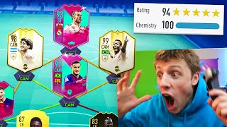 W2S FUT BIRTHDAY 194 RATED DRAFT CHALLENGE - FIFA 19
