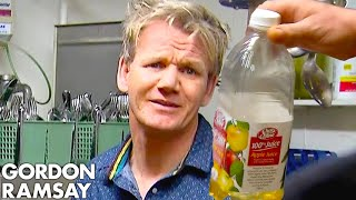 Ramsay Can't Handle Being Served APPLE JUICE Risotto! | Hotel Hell