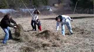 Grow A Natural Garden - One Straw Revolution!!!