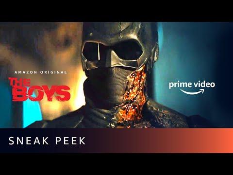 Sneak Peek - Episode 1   The Boys Season 2   Karl Urban, Jack Quaid, Antony Starr Amazon Prime Video