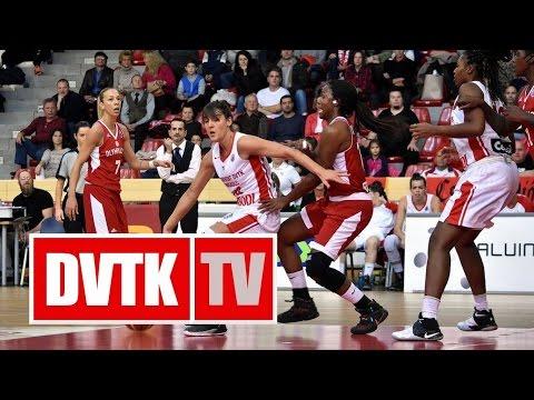 Női kosárlabda Európa Kupa D csoport, 2. forduló. Aluinvent DVTK - Olimpiakosz Pireusz