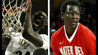 Check out 7'6 Tacko Fall vs Bol Bol (Manute Bol son) basketball highlights comparison mix 2017. Watch Tacko Fall no jump dunk, Bol Bol dunks, blocks, highlights 2017 and more in Tacko Fall and Manute Bol mixtape highlights video comparison. Both are NBA draft prospects and they both have the potential to be future NBA stars.Like, Share, Comment and Subscribe to our channel for more videos!Click to subscribe: http://bit.ly/2jFUtyhMusic:Trip hop (Original Mix) by JorgeSacco https://soundcloud.com/jorgesaccoCreative Commons — Attribution 3.0 Unported— CC BY 3.0 http://creativecommons.org/licenses/by/3.0/
