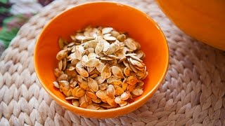 Savoury Pumpkin Seeds
