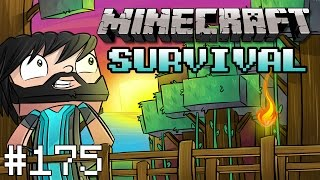 Minecraft : Survival - INFECTED VILLAGER! - #175