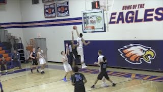 6-foot-6 sophomore at Chaminade is blocking shots and learning game.