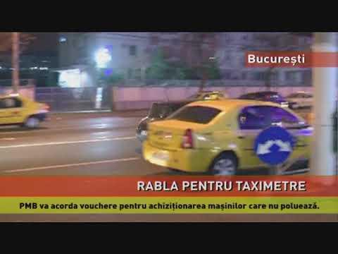 """""""Rabla pentru taximetre"""" are undă verde"""