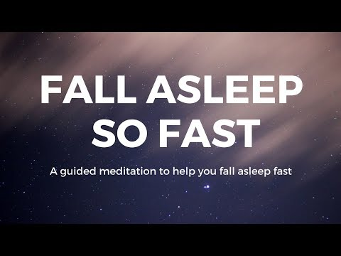 FALL ASLEEP so FAST Guided sleep meditation, help you fall asleep fast, deep sleep, sleep hypnosis
