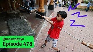 Video Berat Banget Narik Dinosaurus! Jatim Park 3 Malang (2/2) MP3, 3GP, MP4, WEBM, AVI, FLV Juni 2019