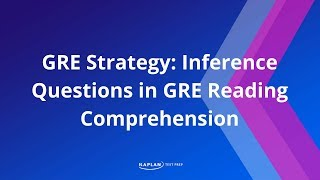 GRE Strategy: Inference Questions In GRE Reading Comprehension | Kaplan Test Prep