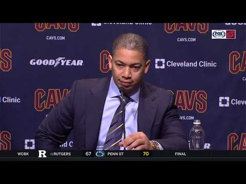 Ty Lue when asked if he's upset with Cavs: 'I can't remember'