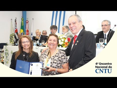 4° Encontro Nacional da CNTU  –  Prêmio Personalidade Profissional 2017
