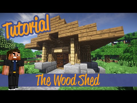 Minecraft Tutorials – Small wood Shed/Shack Addon Ps4/Xbox/PC/PE/Ps3