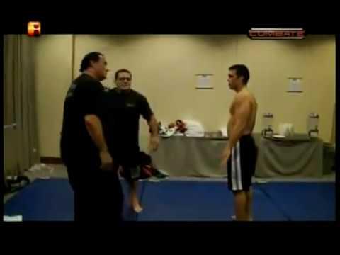 Steven Seagal  Training with Lyoto Machida