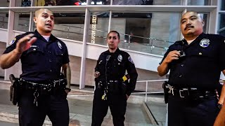 BEVERLY HILLS POLICE UNLAWFUL INTIMIDATION  TACTICS UPDATE!! *SECOND ENCOUNTER*