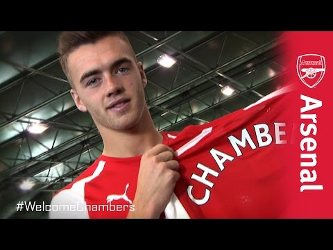 scenes - We take a look behind the scenes of Calum Chambers' first photo shoot as a gunner. #WelcomeChambers For more match action highlights and training videos make sure you become a digital member...