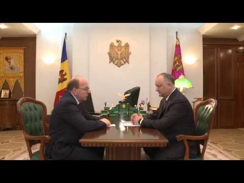 Igor Dodon had a meeting with Russian Ambassador