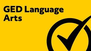 GED Language Arts [2018] Study Guide