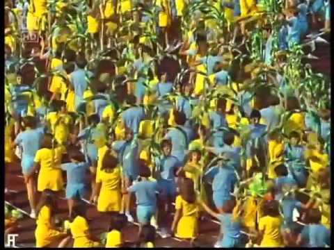 Carl Orff`s opening Song for Olympic Games, Munich 1972