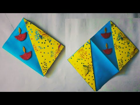 Birthday wishes for best friend - DIY Diwali Greeting Cards  Diwali Diya cards  Beautiful Greeting Cards Greeting Card Making #18