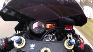 6. 2005 Suzuki GSXR-600 Acceleration