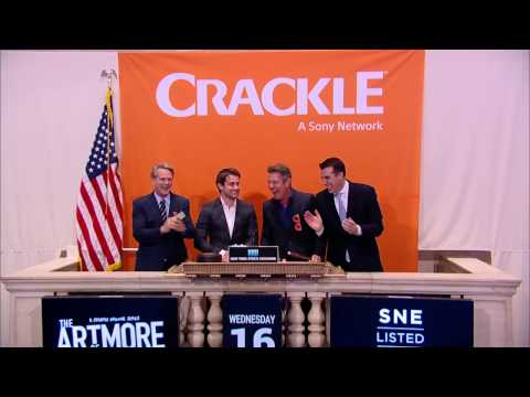 The Art of More – Dennis Quaid, Cary Elwes & Christian Cooke ring the NYSE Closing Bell – Crackle