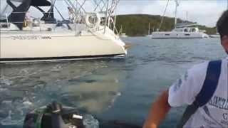 Pizza & Laundry in the Caribbean by Sailboat