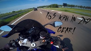 6. 2018 Yamaha R6 impressions ll 4K