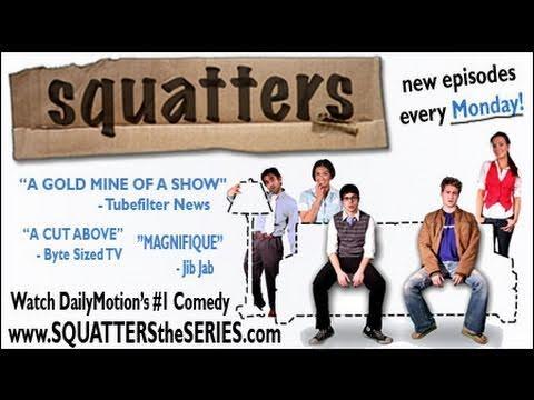 Upoutávka na webseriál Squatteři